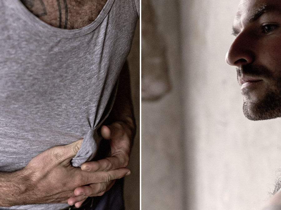 porträt mann tattoo fotograf leipzig
