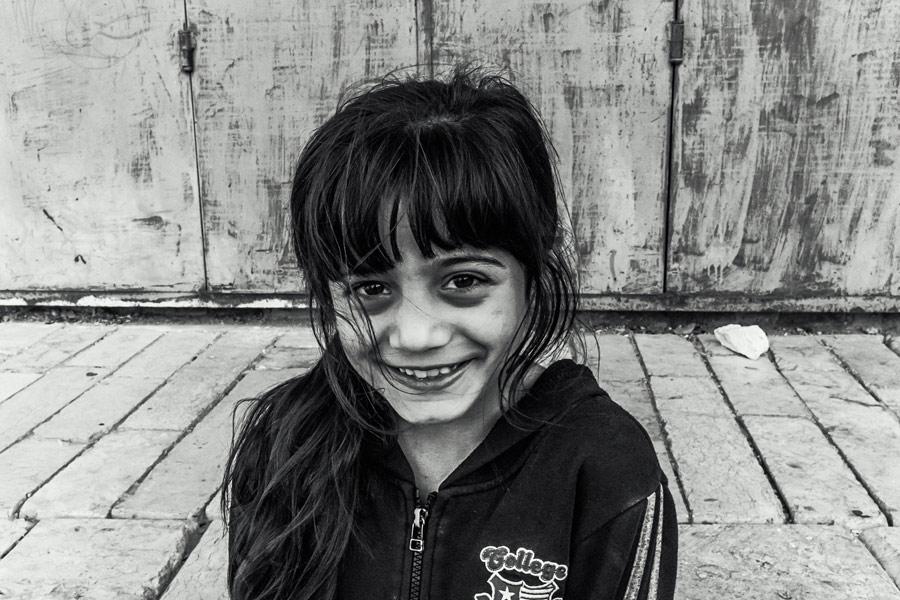 Kinder auf den Straßen Betlehems
