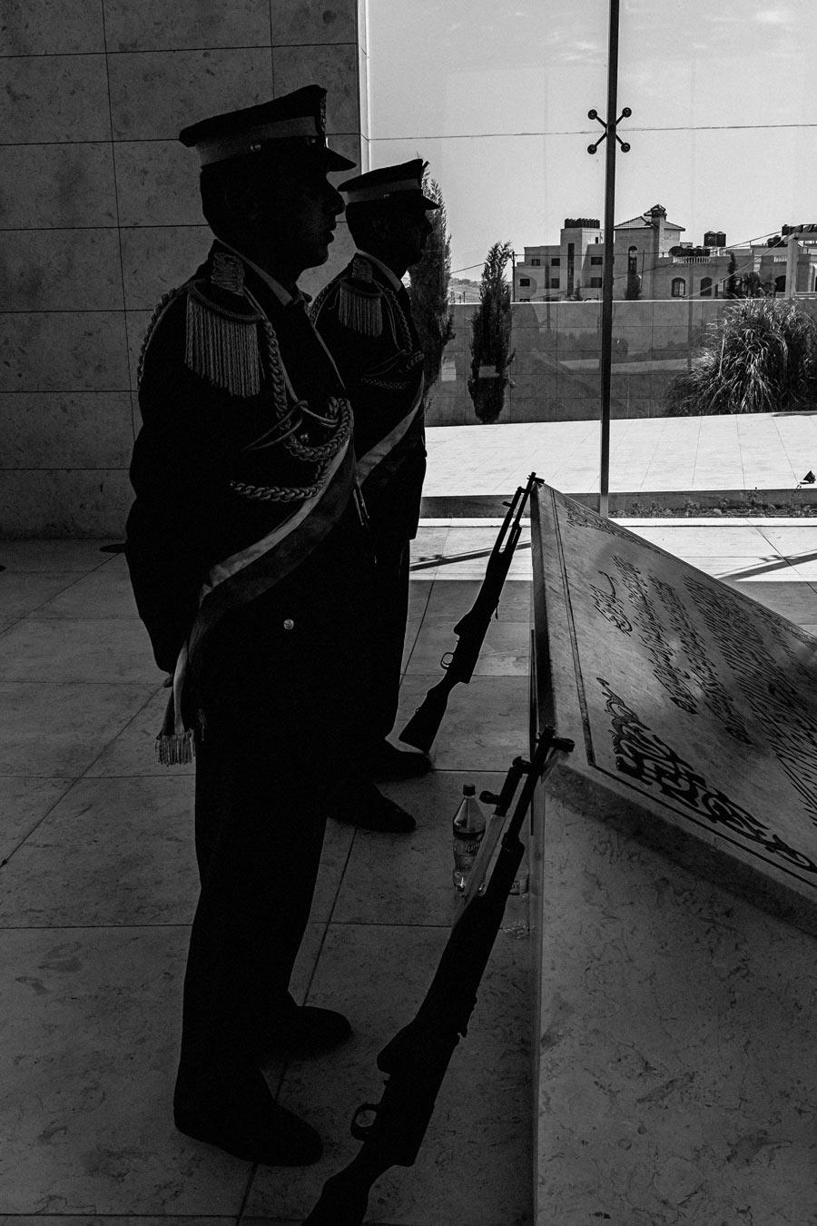 Ramallah - Grab Jassir Arafat