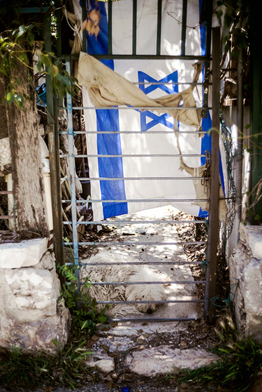 Straßenszene in Jerusalem