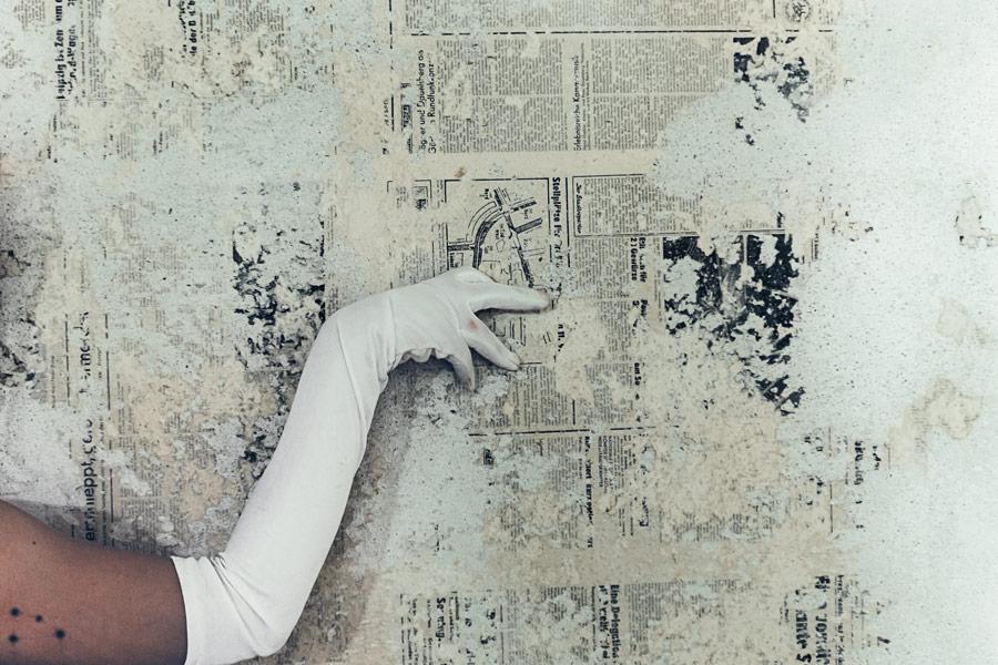 Mädchenjahre fotoserie von antje kroeger