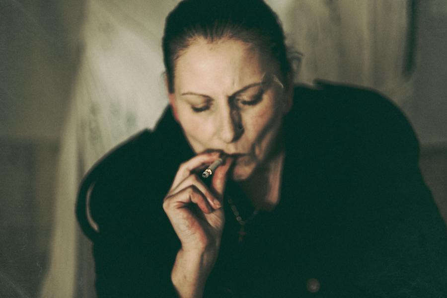 Recht oder nicht Recht , Fotoserie von Antje Kröger
