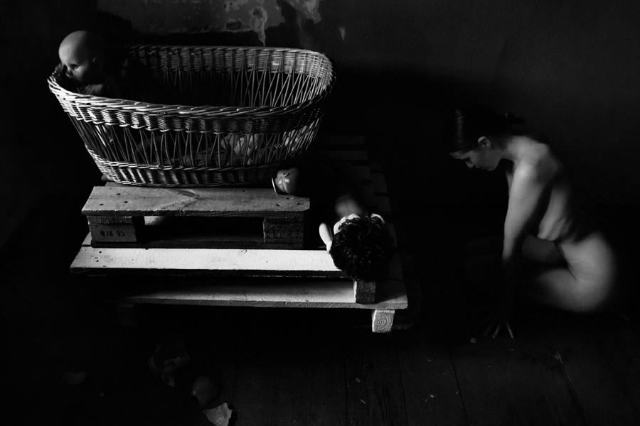 Zweikampf, Fotoserie von Antje Kroeger