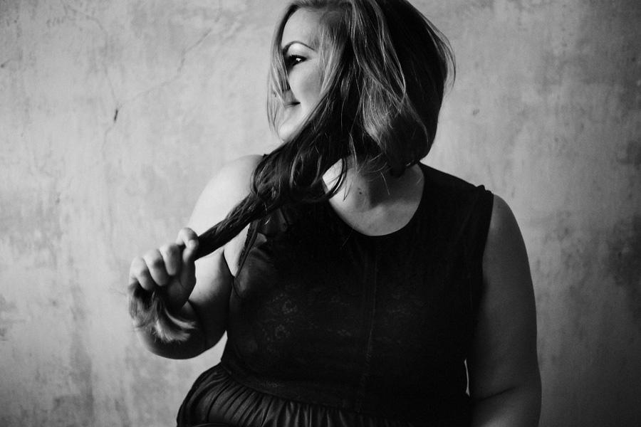 Ich bin schön, Fotoserie von Antje Kröger