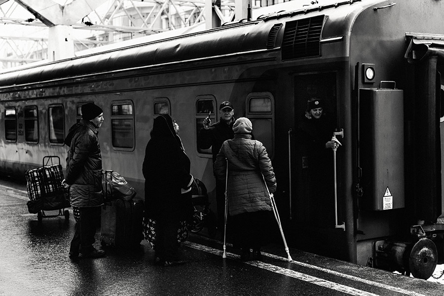 St. Petersburg - Saint Petersburg, Moskauer Bahnhof