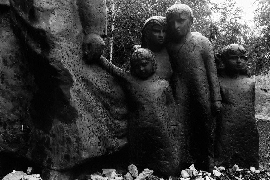 Jüdischer Friedhof an der Okopowa-Straße - Denkmal Janusz Korczaks