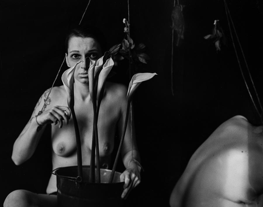 Gewebe - Aktserie von Antje Kröger