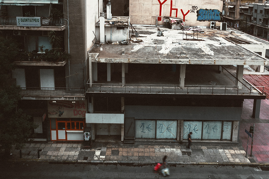 Athen, Griechenland (Mai 2017) - documenta 14