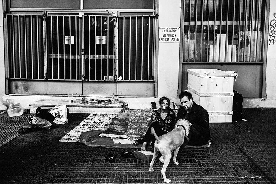 Athen, Griechenland (Mai 2017) - Omonia