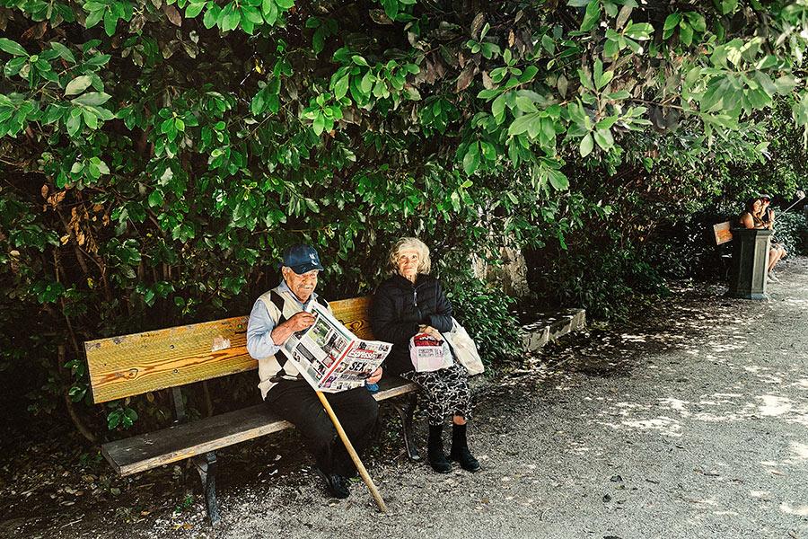 Athen, Griechenland (Mai 2017) - Nationalgarten