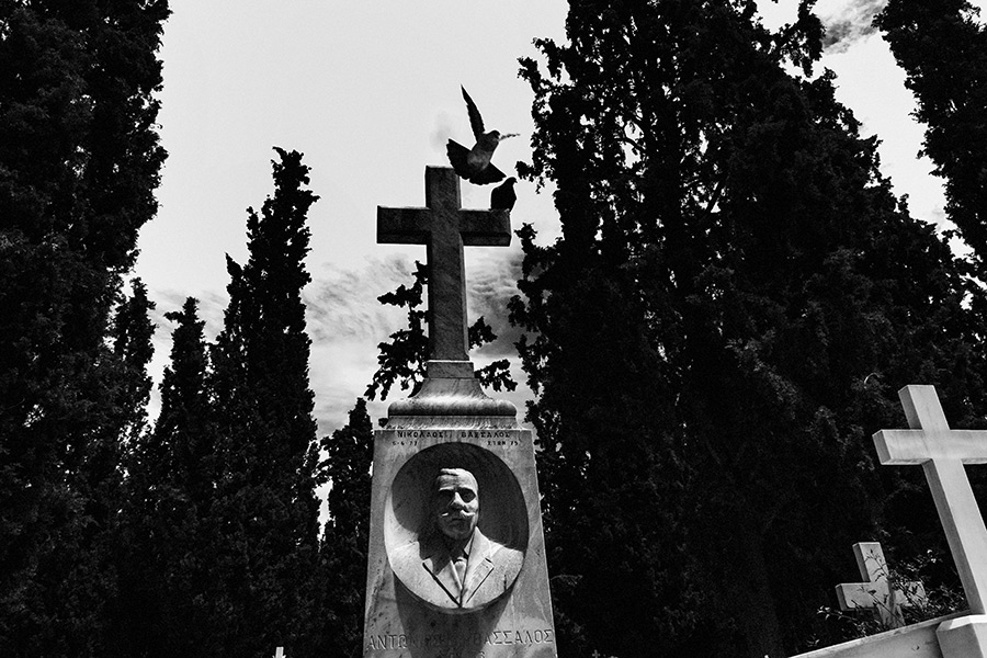 Athen, Griechenland (Mai 2017) - Erster Athener Friedhof