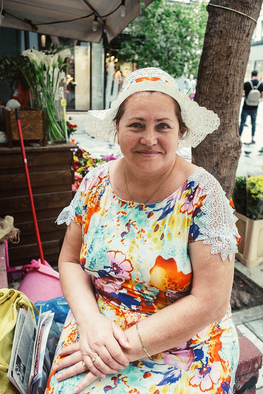 Athen, Griechenland (Mai 2017) - Ermou-Straße