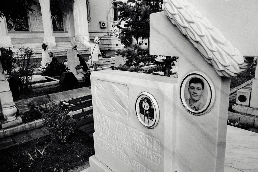 Rumänien - Bukarest - Heldenfriedhof für die Opfer der Revolution vom 23. Dezember 1989