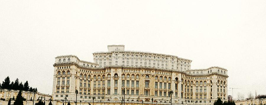 Rumänien - Bukarest - Parlamentspalast