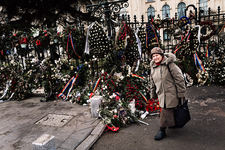 Rumänien - Bukarest - Platz der Revolution