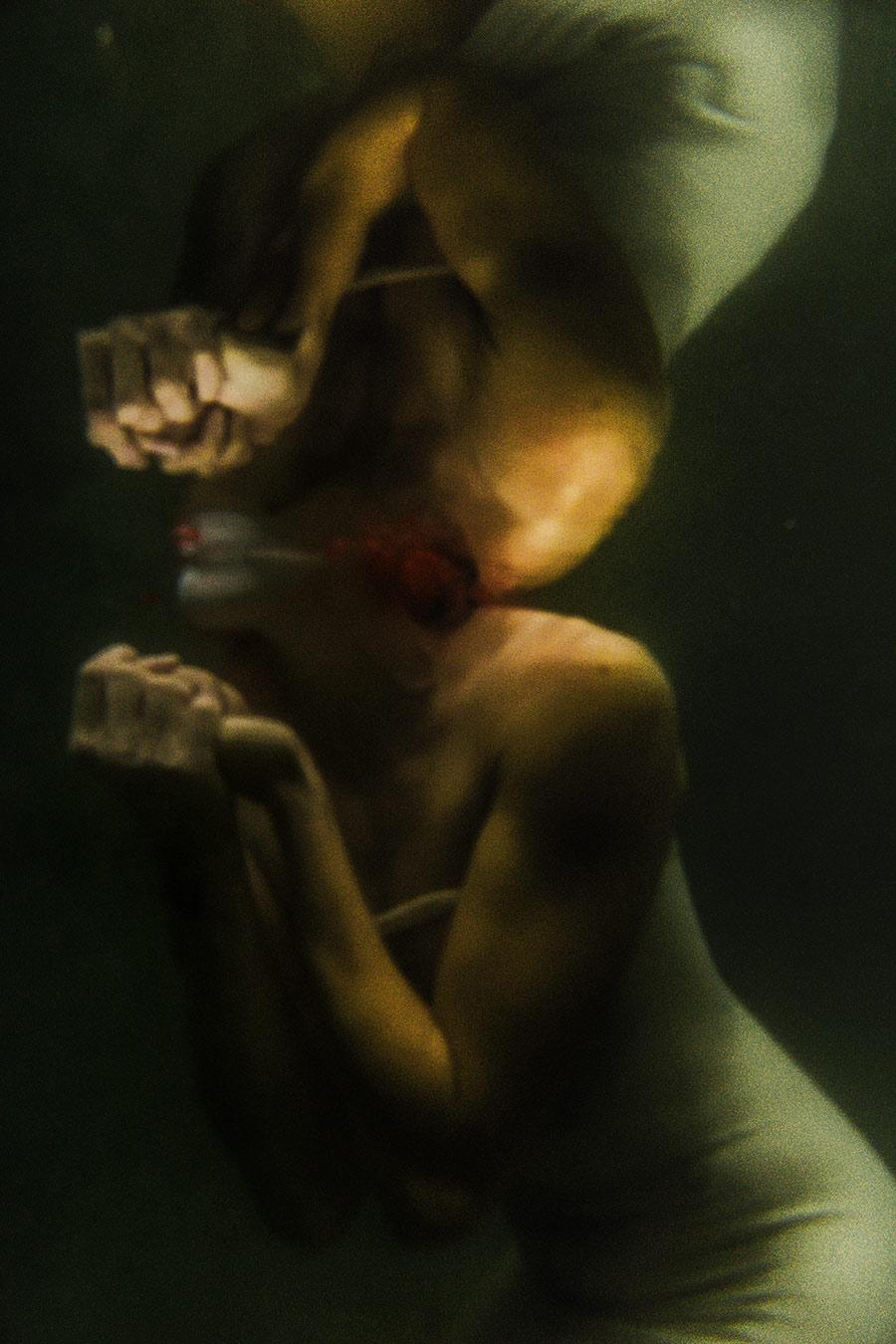 Schelmischer Tauchgang_Fotoserie Antje Kroege