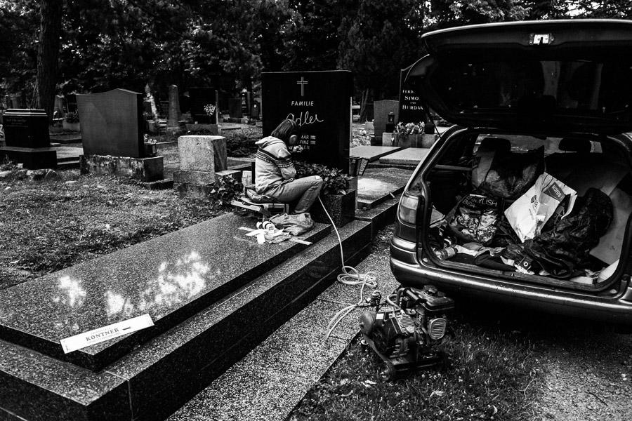 Wien - Zentralfriedhof, Juli 2018 Antje Kröger Fotokunst