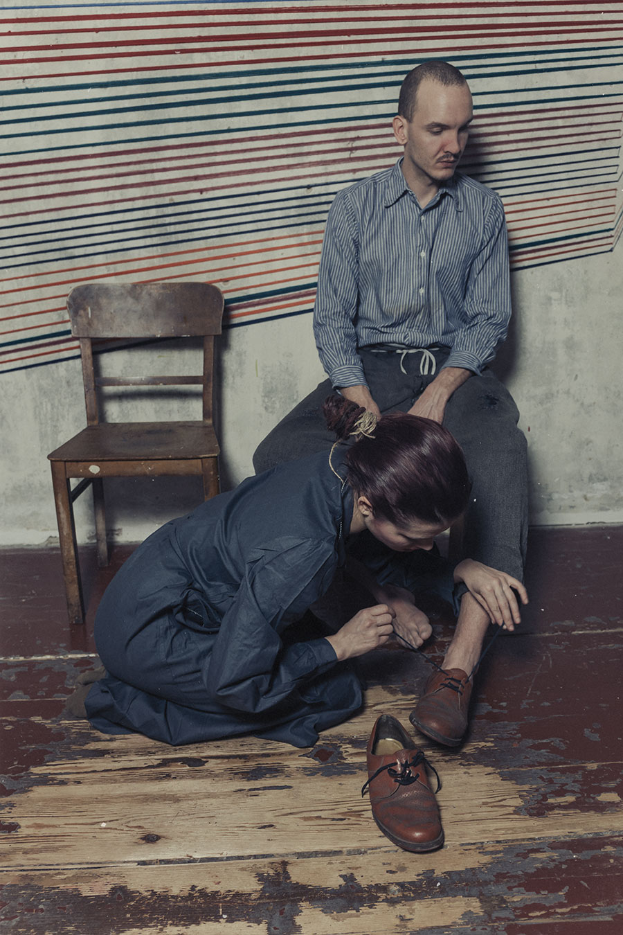 Konzentration Fotoserie Antje Kröger